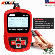 Auto Car Battery Tester Digital Vehicle Analyzer Battery Check Tool ANCEL BST200