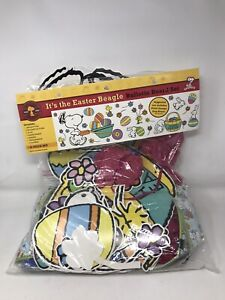Eureka It's the Easter Beagle Bulletin Board Peanuts Set Kit 30 pieces