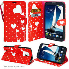 Samsung Galaxy Express 3 / Amp 2 / J1 2016 Leather Wallet Pouch Case Flip Cover