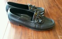 Cole Haan Men's Black Leather Work Walking Tassel Loafers Slip On Shoes Size 9