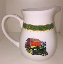 John Deere Memories Drinking Pitcher dinnerware Gibson
