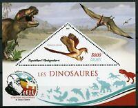 Madagascar 2019 MNH Dinosaurs Rahonavis 1v S/S Prehistoric Animals Stamps