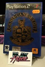 Canis Canem Edit PS2 Playstation 2 PAL ITA Used Usato Completo Rockstar