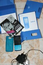 Nokia X3-02 (Blue) Metal Housing (used) BNIB Nokia X3