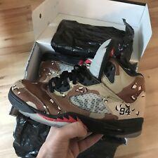 Nike Air Jordan 5 X Supreme -Camo -EU45/US11/UK10