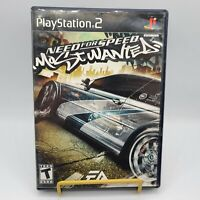 Playstation 2 PS2 Need For Speed Most Wanted Tested Complete Scratch Free