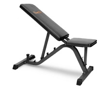 Weight Bench Abs Ab Flat Incline Press Gym Exercise Fitness New Full Adjustable
