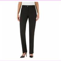 NEW Hilary Radley Black Dress Pants Slim Leg - VARIETY