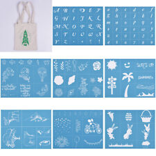 DIY Silk Screen Printing Stencil Letters Adhesive Mesh Transfer Bag T-Shirt Wood