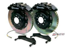 Brembo Front Gt Big Brake Kit Bbk 8 Piston Black 380x34 Slot A8 D3 04 10