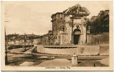 Primi '900 Ancona Porta Pia Vista Città FP B/N ANIM
