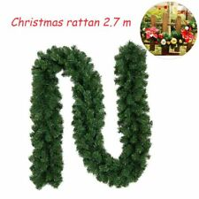 Christmas Garlands Wreath Rattan Hanging Ornaments For Home Railings Decorations