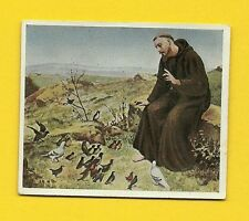 St. Francis of Assisi 1934 German Cigarette Card
