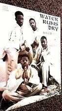 BOYZ II MEN: WATER RUNS DRY ( SHEET MUSIC)
