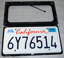 American Electric License Car Plate frame shutter curtain USA type!
