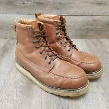 DieHard Mens Classic 6 Wheat Soft Toe Work Boot Size 13M Brown
