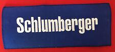 Schlumberger oil field jacket size patch 4-5/8 X 11