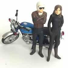 Time Slip Glico Miniature Motorcycle Honda Dream CB750 Four Kaiyodo Japan