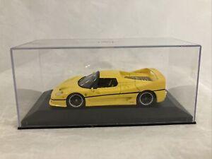 1/43 Minichamps 1995 Ferrari F50, Yellow, no box