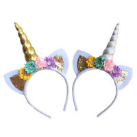 Magical Unicorn Horn Headband Party Kids Hair Headband Fancy Girl Cosplay