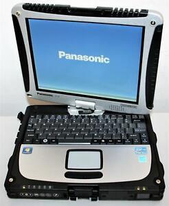 "10.1"" Panasonic Toughbook CF-19 Core i5 2.5GHz 8GB 256SSD WiFi BT Touch MK5 0Hrs"