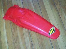 2004-07 Honda CRF250F/450F Rear Fender CYCRA Power-Flow Red Used