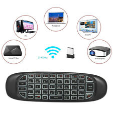 Rechargeable 2.4GHz Wireless Fly Air Mouse C120 Mini Keyboard Remote Control
