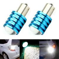 2Pcs 12V 1156 BA15S P21W 7W High Power CREE Q5 LED Car Bulbs Reverse Light White