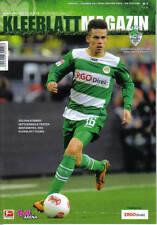 Stadionheft Programm 12/13 SpVgg Greuther Fürth VfB Stuttgart Kleeblatt Magazin
