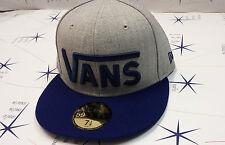 Cappello Vans cappellino blu grigio originale 2015 hat authentic
