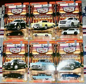 2021 Matchbox Cadillac Serie Diecast Metal Cars 1:64 Escalade CTS One Limousine