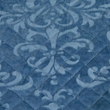 Embossed Lace Velvet Bed Cover Sheet King Quilted Bed Skirt Ruffle Zipper Queen