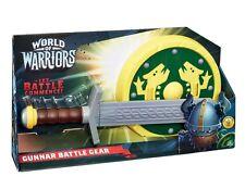 World of Warriors Battle Gear Gunnar Fancy Dress Viking Sword Weapon Set Kids