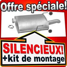 Silencieux Arriere PEUGEOT 406 2.0 2.2 HDI BREAK 1998-2004  échappement KLX