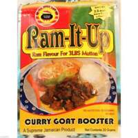 2 Ram-It-Up Curry Goat Booster 20g