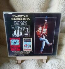 TOM PETTY HEARTBREAKERS TOO GOOD TO BE TRUE  VOL 1&2 LIMITED EDITION TOUR PASSES
