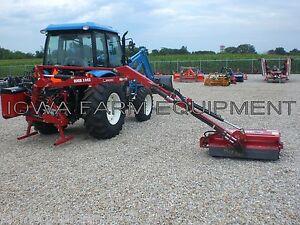 """Flail Boom Mower: Bush Hog RMB1445-1, Tractor 3-Pt,PTO Powered,39"""" Cut,14' Reach"""