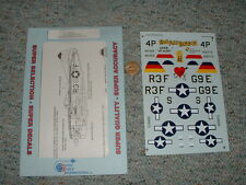 Superscale decals 1/48 48-330 P-47D Bubble Tops 410th FS 509th 513th  F125