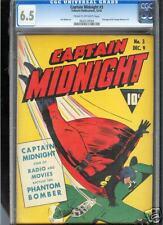 Captain Midnight #3  CGC  6.5  FN+  Universal CGC #0626120004