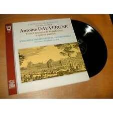 ANTOINE D'AUVERGNE trois concerts de symphonies .. STEPHANE CARDON - ARION Lp 78