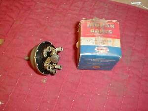 NOS MOPAR 1953-4 PLYMOUTH & DODGE 2 SPEED WIPER SWITCH