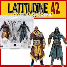 NECA ASSASSIN'S CREED BROTHERHOOD REVELATIONS EZIO AUDITORE 2 PACK ACTION FIGURE