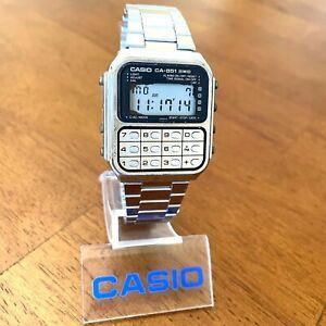 RARE Vintage 1981 Casio CA-851 Digital Calculator Game Watch Japan Made Mod. 134