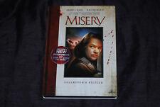 Misery - OOP R1 MGM Slipcover DVD - James Caan Kathy Bates Stephen Cujo King
