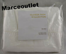 Hudson Park 500 Thread Count Pima Cotton KING Flat Sheet White