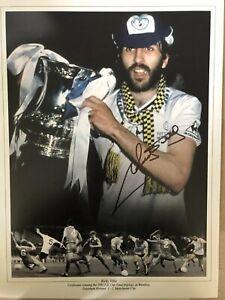 Ricky Villa Tottenham Hotspur Signed Photo Montage
