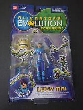 Alienators Evolution Continues Lucy Mai Action Figure RARE Vintage CARDED 2002