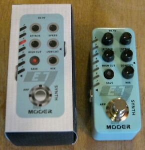 Mooer E7 Polyphonic Synth Micro Guitar Effects Pedal - Ships from US