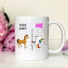 Other Aunts Me Unicorn Aunt Mug Aunt Gift Funny Aunt Mug Funny Aunt Gift Mug