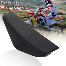 Flat Tall Foam Seat For Honda CRF50 XR50 110cc 125cc 140cc Trail Dirt Pit Bike